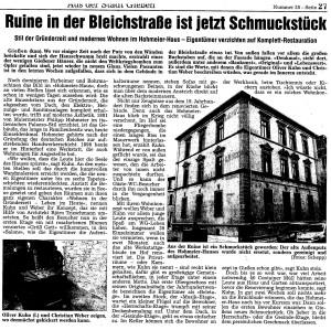 Artikel Gießener Allgemeinen 14.02.2012